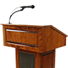 Image of empty pulpit